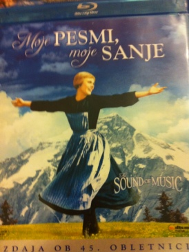 The Sound of Music - Blu-ray cover