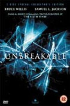 Unbreakable - Laser Disc cover