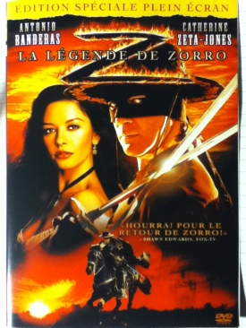 The Legend of Zorro - Laser Disc cover
