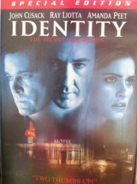 Identity - DVD cover