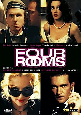 Four Rooms - DVD cover