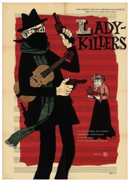 The Ladykillers - Blu-ray cover