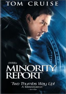 Minority Report - DVD cover