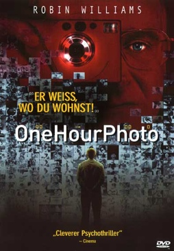 One Hour Photo - DVD cover