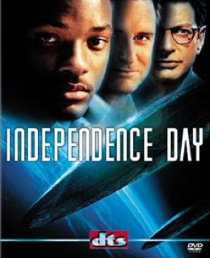 Independence Day - DVD cover