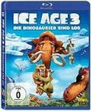 Ice Age 3: Dawn of the Dinosaurs - Blu-ray cover