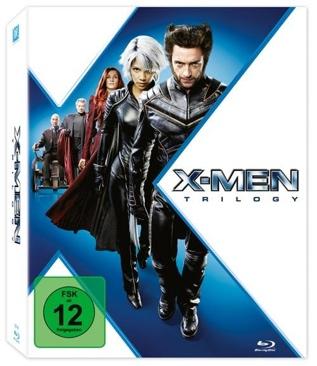 X-Men Trilogie - Blu-ray cover