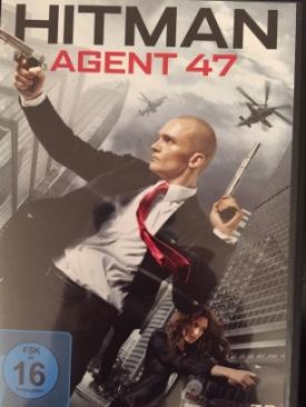Hitman Agent 47 - DVD cover