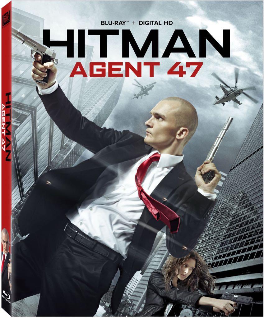 Hitman: Agent 47 - Blu-ray cover