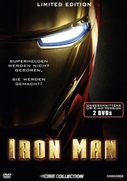 Iron Man - DVD cover