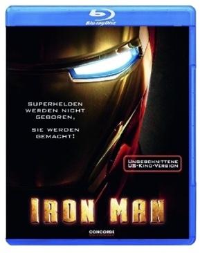 Iron Man 1 - Blu-ray cover