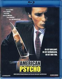 American Psycho - Blu-ray cover
