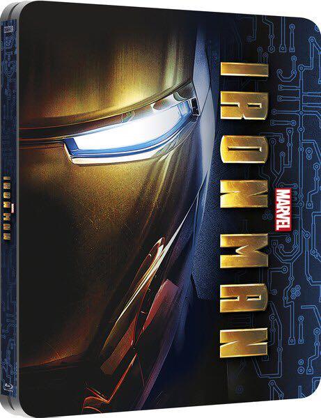 Iron Man (Steelbook) - Blu-ray cover