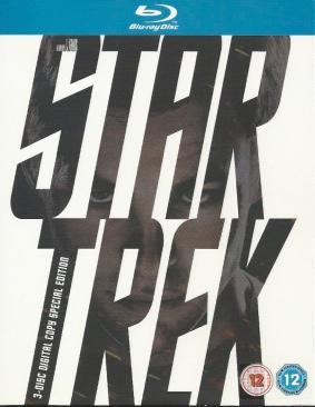 Star Trek R1 - Blu-ray cover