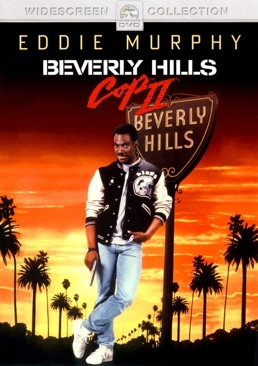 Beverly Hills Cop 2 - Laser Disc cover