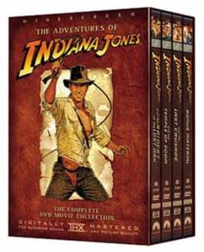 Indiana Jones Trilogy (Box) - DVD cover