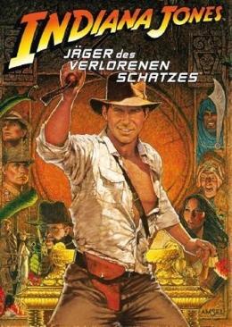 Indiana Jones - Jäger des verlorenen Schatzes (Raiders of the Lost Ark) - DVD cover