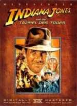 Indiana Jones und der Tempel des Todes (Indiana Jones and the Temple of Doom) - DVD cover