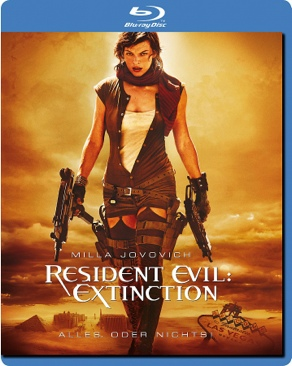 Resident Evil 3: Extinction - Blu-ray cover