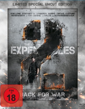 Expendables 2 - Blu-ray cover