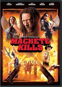 Machete Kills - DVD cover