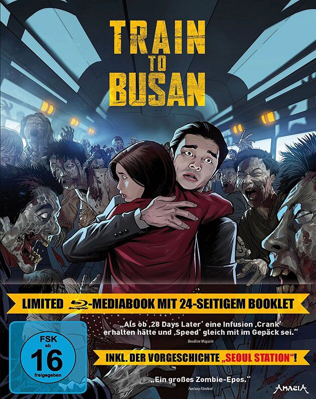 Train to Busan (Limited Mediabook) -  cover