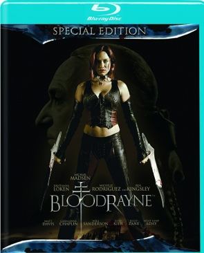 Bloodrayne - Blu-ray cover