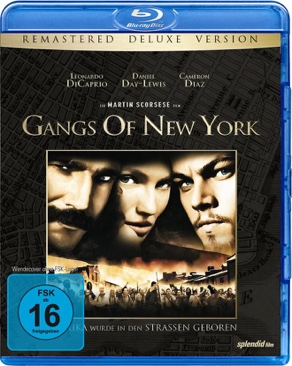 Gangs of New York - Blu-ray cover