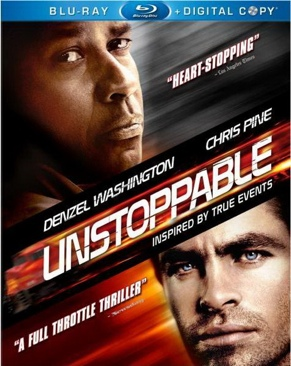 Unstoppable - HD DVD cover