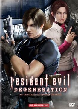 Resident Evil Degeneration - DVD cover