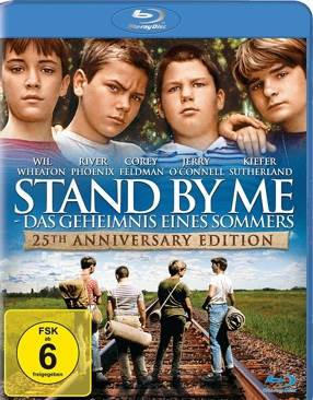 Stand By Me - Blu-ray cover