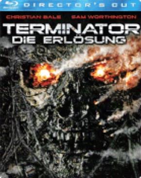 Terminator 4 : Salvation - Blu-ray cover
