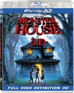 Monster House - Blu-ray cover