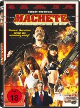 Machete - DVD cover