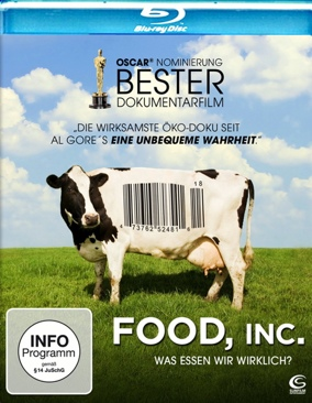 Food, Inc. - Blu-ray cover