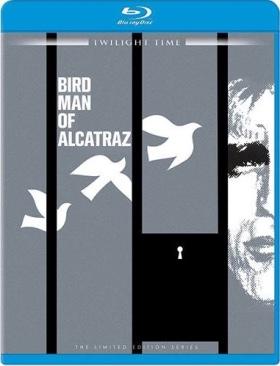 Birdman of Alcatraz - Blu-ray cover