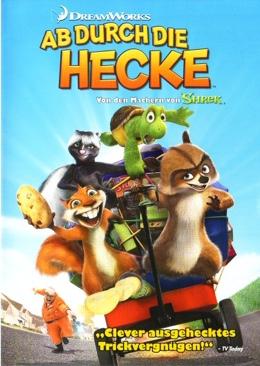 Ab Durch Die Hecke - VHS cover