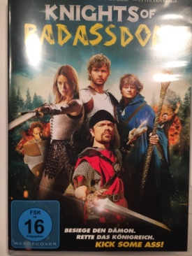 Knights Of Badassdom - DVD cover