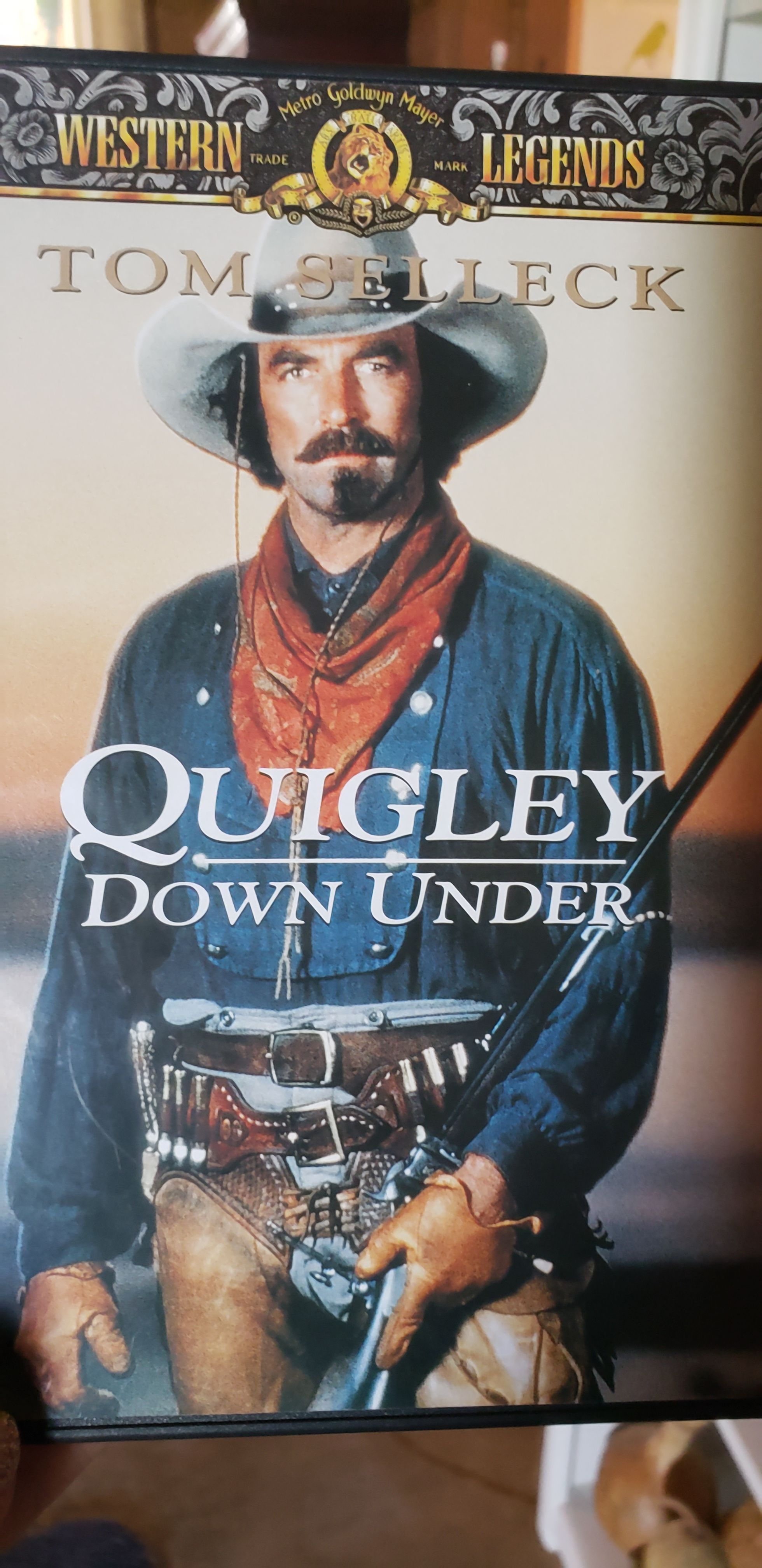 Quigley Down Under -  cover