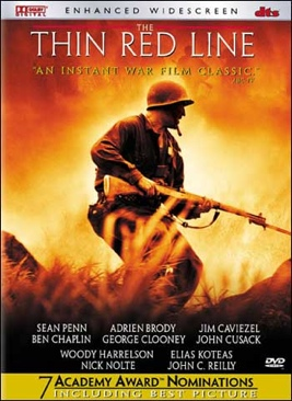 The Thin Red Line - DVD cover