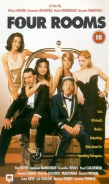 Four Rooms - VHS cover