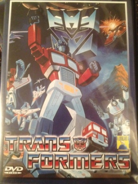 Transformers - DVD cover