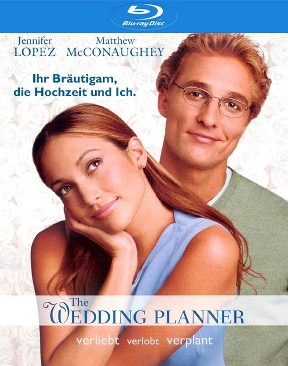 The Wedding Planner - Blu-ray cover