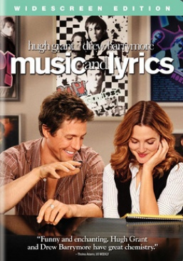 Music and Lyrics - DVD cover