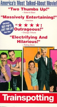 Trainspotting - VHS cover