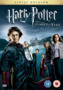 Harry Potter and the Goblet of Fire - DVD cover