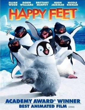 Happy Feet - DVD cover