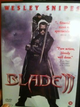 Blade II - HD DVD cover
