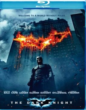 Batman A Sötét Lovag - Blu-ray cover