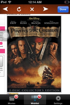 Pirates of the Caribbean: The Curse of the Black Pearl - DVD cover